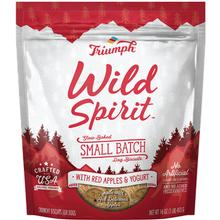 Triumph Pet Wild Spirit Small Batch Slow-Baked Biscuits Dog Treat - Red Apples & Yogurt Recipe