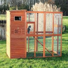 Trixie Wooden Outdoor Cattery Cat Run