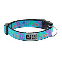 Tropical Paisley Adjustable Clip Dog Collar by RC Pet