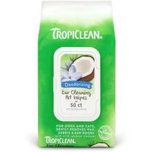 TropiClean Ear Cleaning Pet Wipes