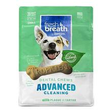 Tropiclean Fresh Breath Dental Chews Advanced Cleaning Dog Treats