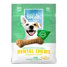 Tropiclean Fresh Breath Dental Chews Dog Treats - Banana