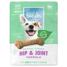 TropiClean Fresh Breath Dental Chews Hip & Joint Dog Treats