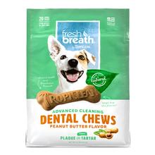 Tropiclean Fresh Breath Dental Chews Dog Treats - Peanut Butter