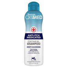 TropiClean Oxy-Med Oatmeal Dog Shampoo - Deep Cleansing