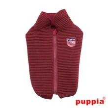Troy Dog Vest by Puppia - Wine