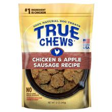 True Chews Premium Recipe Dog Treat - Chicken & Apple Sausage