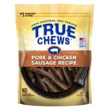 True Chews Premium Recipe Dog Treat - Pork & Chicken Sausage