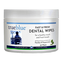 TrueBlue Fast & Fresh Dog Dental Wipes