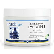 TrueBlue Safe & Sure Eye Wipes for Dogs & Cats