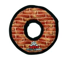 Tuffy Dog Toys - Mega Ring Brick Print