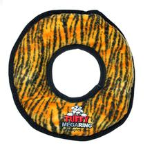 Tuffy Mega Ring Dog Toy - Tiger Print