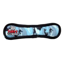 Tuffy Ultimate Bone Dog Toy - Camo Blue