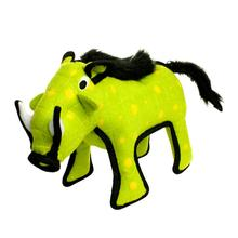 Tuffy Desert Series Dog Toy - Warthog Green