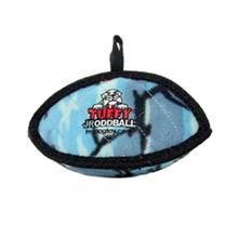 Tuffy Jr Oddball Dog Toy - Camo Blue