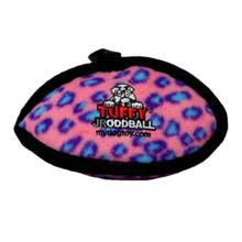 Tuffy Jr Oddball Dog Toy - Pink Leopard
