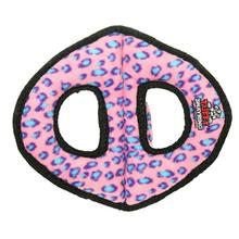 Tuffy Ultimate 3-Way Ring Dog Toy - Pink Leopard