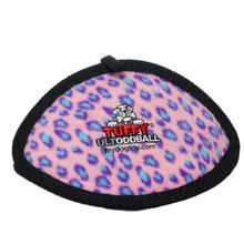 Tuffy Ultimate Oddball Dog Toy - Pink Leopard