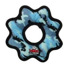 Tuffy Ultimate Gear Dog Toy - Camo Blue