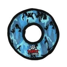 Tuffy Ultimate Ring Dog Toy - Camo Blue