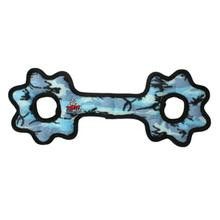 Tuffy Ultimate Tug-O-Gear Dog Toy - Camo Blue