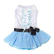 Tutu-Riffic Dog Dress by Dogs of Glamour - Light Blue