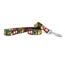 Twelve Days of Christmas Dog Leash by Yellow Dog