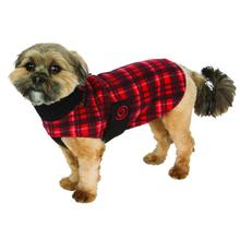 Ultra Paws Cozy Dog Coat - Red Plaid