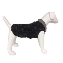 Ultra Paws Doga Tog Single Fleece Dog Pullover - Starry Black