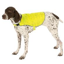 Ultra Paws Ultra Reflective Dog Safety Vest - Yellow Lime