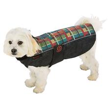 Ultra Paws Weather Master Dog Coat - Forest Plaid
