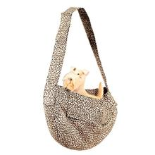 Cheetah Couture Dog Cuddle Carrier by Susan Lanci - Light Cheetah