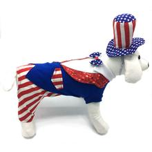 Uncle Sam Dog Costume by Puppe Love