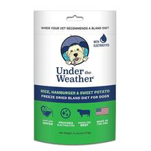 Under the Weather Freeze-Dried Bland Diet for Dogs - Rice, Hamburger and Sweet Potato
