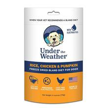 Under the Weather Freeze-Dried Bland Diet for Dogs - Rice, Chicken and Pumpkin