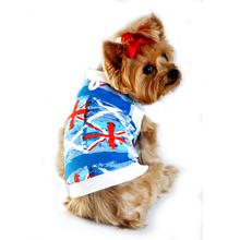 Union Jack Dog Tank by Doggie Design