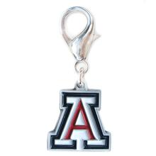 University of Arizona Dog Collar Charm