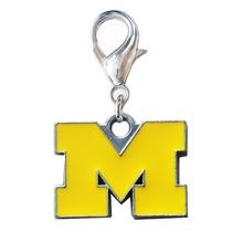 University of Michigan Wolverines Dog Collar Charm