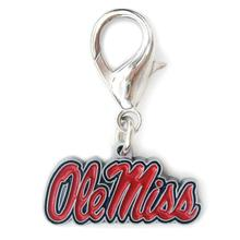 University of Mississippi 'Ole Miss' Dog Collar Charm