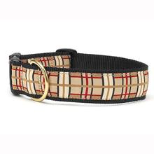 Up Country Plaid Wide Dog Collar