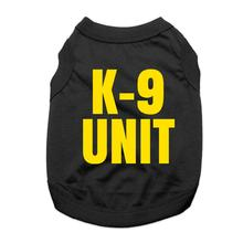 K-9 Unit Dog Shirt - Black