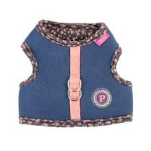 Vafara Pinka Dog Harness by Pinkaholic - Dark Gray