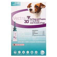 Vectra 3D Topical Flea and Tick Treatment for Dogs - 6 Doses