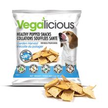 Vegalicious Popped Snack Dog Treat - Garden Harvest