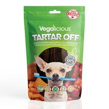 Vegalicious Tartar Off Dog Treat - Sweet Potato and Apple with Cinnamon