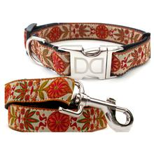 Venice Ivory Dog Collar and Leash Set by Diva Dog