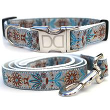 Boho Morocco Dog Collar and Leash Set by Diva Dog