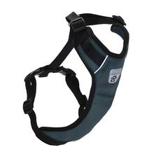 Vented Vest Car Seat Dog Harness - V2 Charcoal