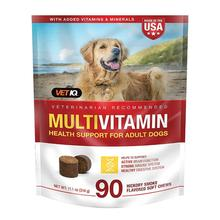 VetIQ Multivitamin Health Support Supplement for Adult Dogs - Hickory Smoke Flavor, 90 Soft Chews