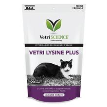 VetriScience Vetri Lysine Plus Bite-Sized Cat Chews